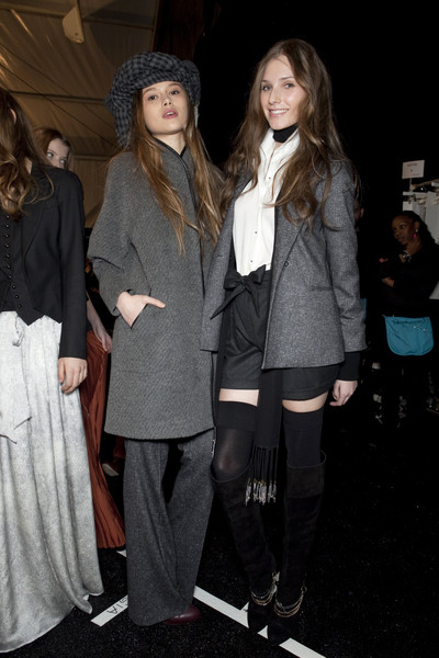 Charlotte Ronson at New York Fall 2010 (Backstage)