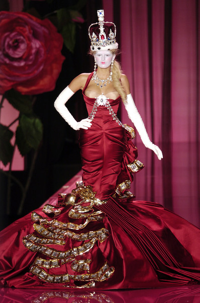 Christian Dior at Couture Fall 2004