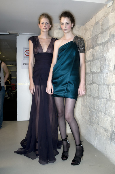 Christophe Josse Fall 2009 - Backstage