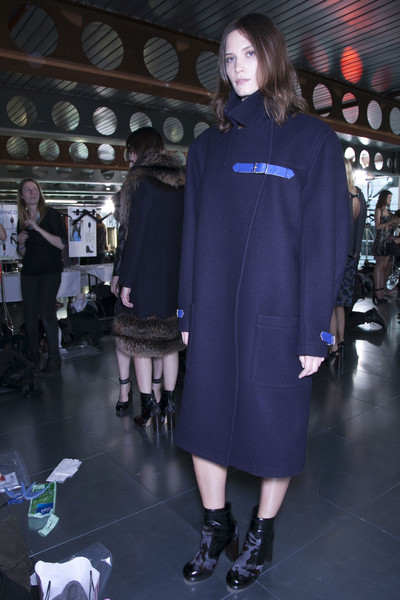 Christopher Kane Fall 2013 - Backstage