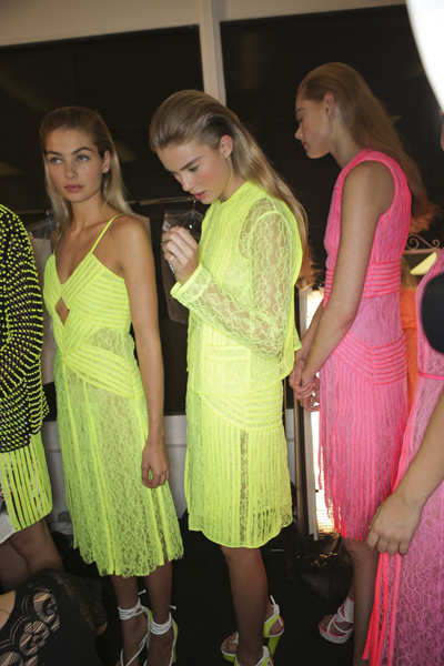 Christopher Kane Spring 2011 - Backstage
