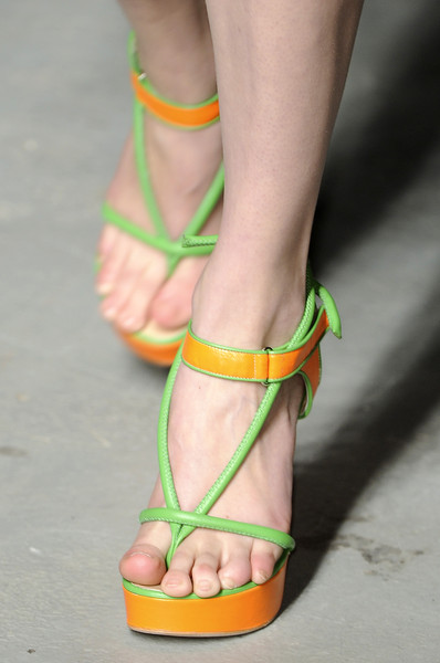 Christopher Kane at London Spring 2011 (Details)