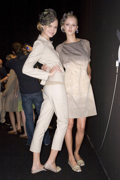Cividini at Milan Spring 2009 (Backstage)