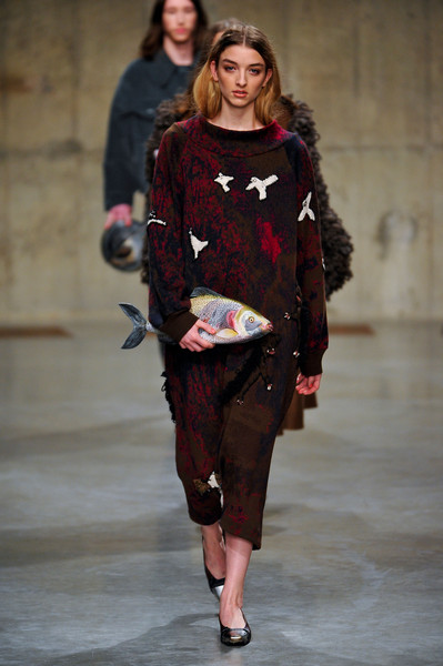 Claire Barrow at London Fall 2013