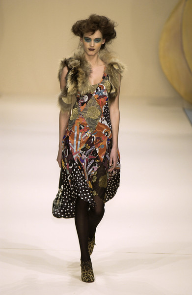 Clements Ribeiro at London Fall 2004
