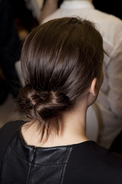 Colette Dinnigan Fall 2012 - Backstage