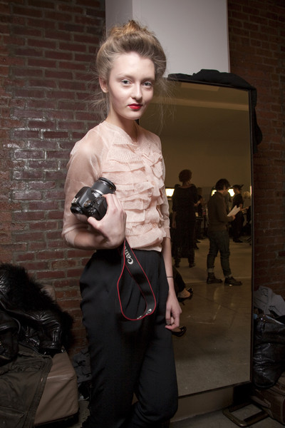 Costello Tagliapietra at New York Fall 2010 (Backstage)