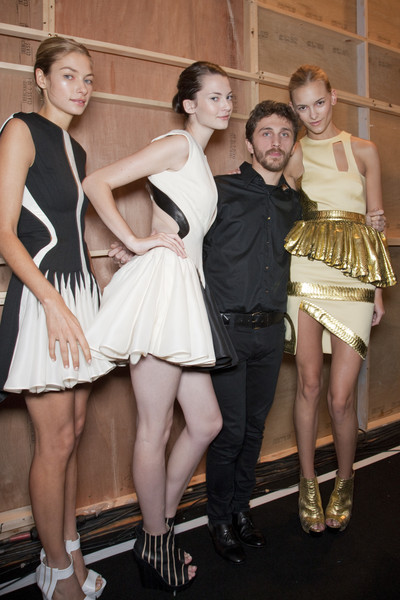 David Koma Spring 2011 - Backstage