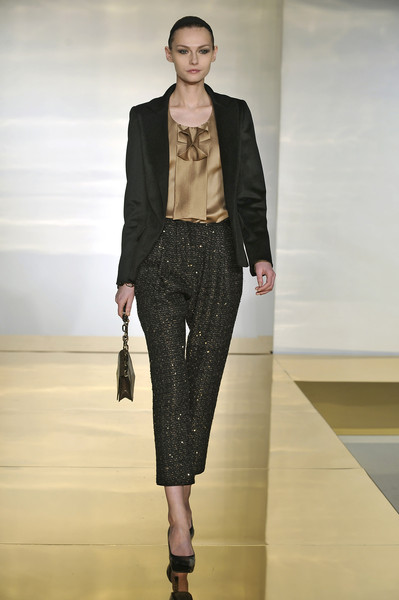 Devi Kroell at New York Fall 2009