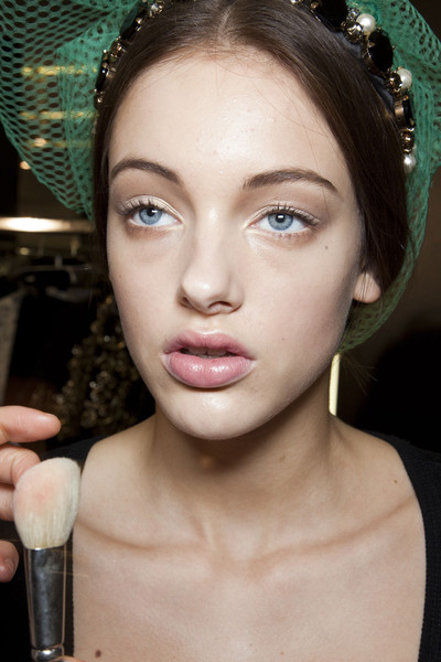 Dolce & Gabbana at Milan Fall 2012 (Backstage)