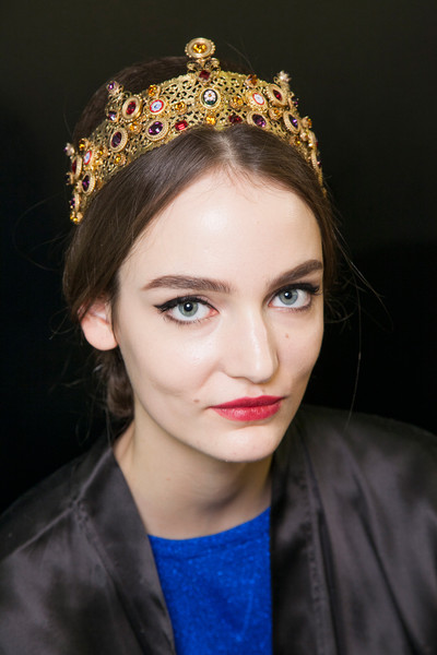 Dolce & Gabbana Fall 2013 - Backstage