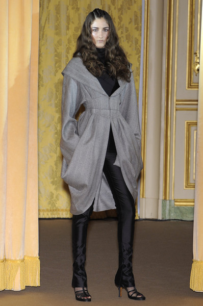 Dominique Sirop at Couture Fall 2008