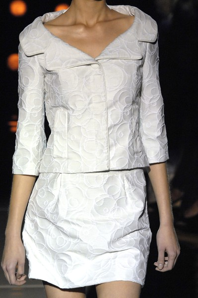 Douglas Hannant at New York Spring 2007 (Details)