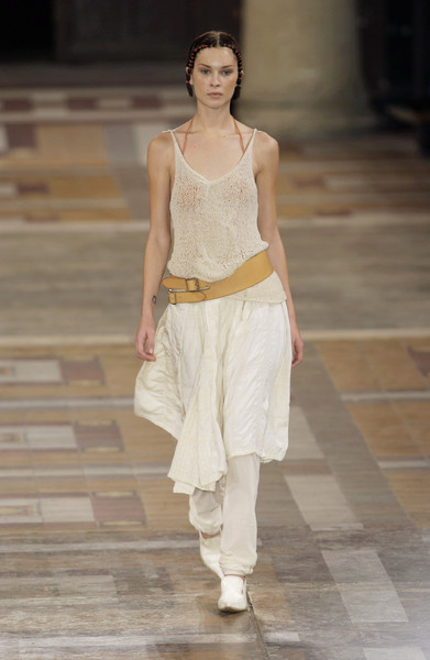 Dries Van Noten at Paris Spring 2002