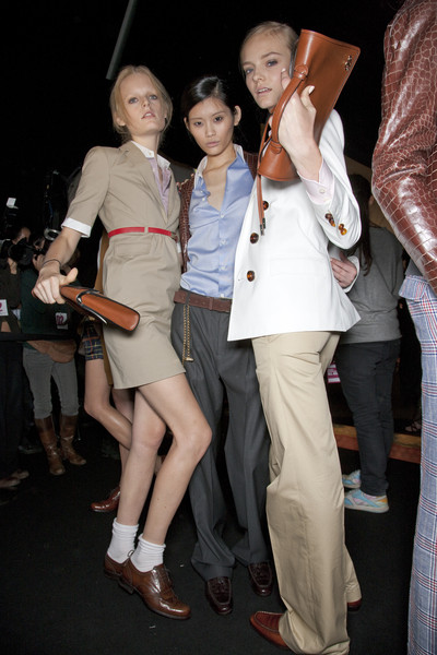 Dsquared² Spring 2011 - Backstage