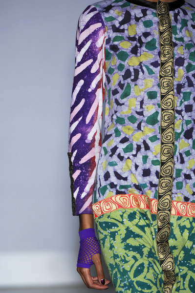 Duro Olowu at London Fall 2008 (Details)