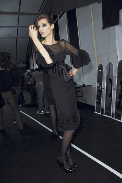 Elie Saab Fall 2008 - Backstage