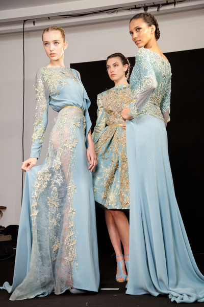 Elie Saab Fall 2012 - Backstage