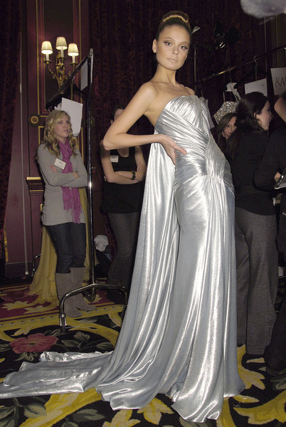 Elie Saab at Couture Spring 2008 (Backstage)