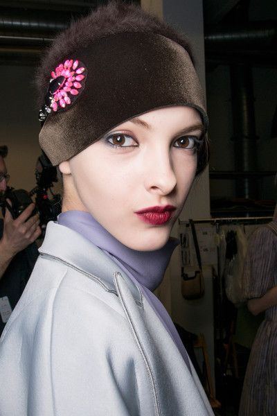 Emporio Armani Fall 2013 - Backstage