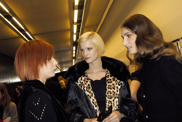 Ermanno Scervino Fall 2007 - Backstage