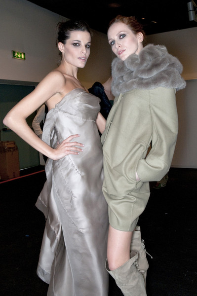 Ermanno Scervino Fall 2009 - Backstage