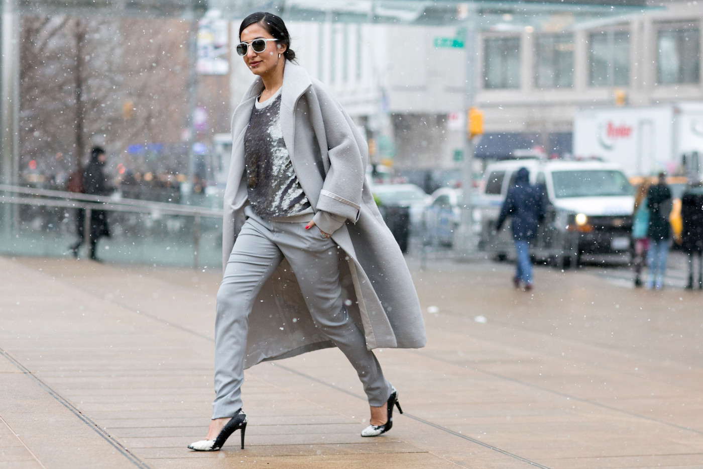 Silver Fox Best Street Style From New York Fashion Week Fall 2015 Stylebistro