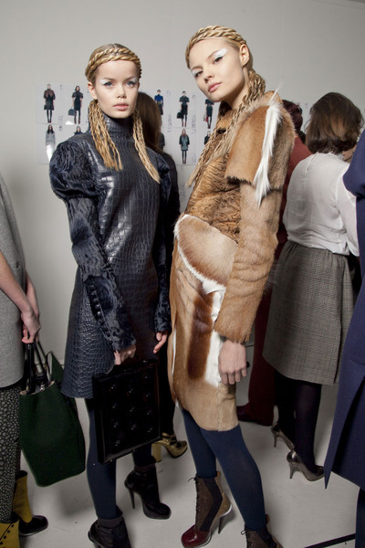 Fendi Fall 2012 - Backstage
