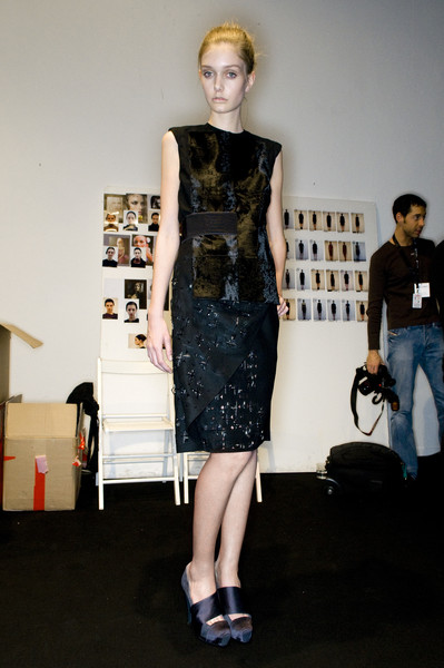 Gabriele Colangelo at Milan Fall 2009 (Backstage)