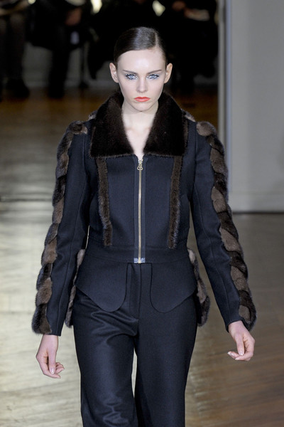 Gaspard Yurkievich at Paris Fall 2011