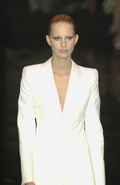 Gianfranco Ferré at Milan Spring 2002