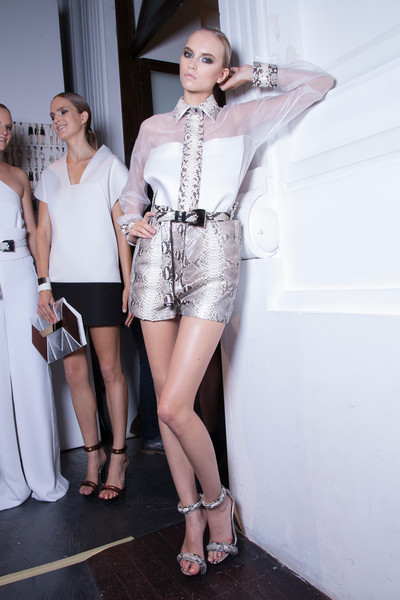 Gianfranco Ferré Spring 2013 - Backstage