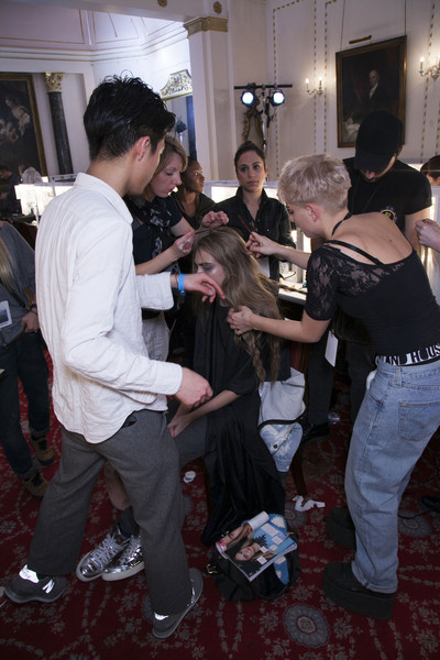 Giles Fall 2013 - Backstage
