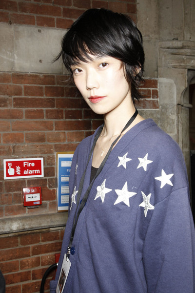 Giles at London Spring 2012 (Backstage)