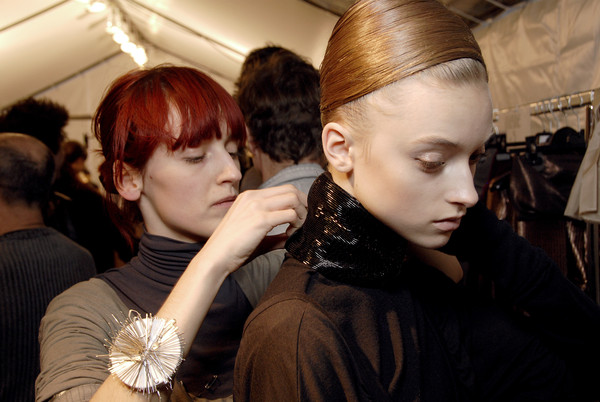 Haider Ackermann Fall 2007 - Backstage