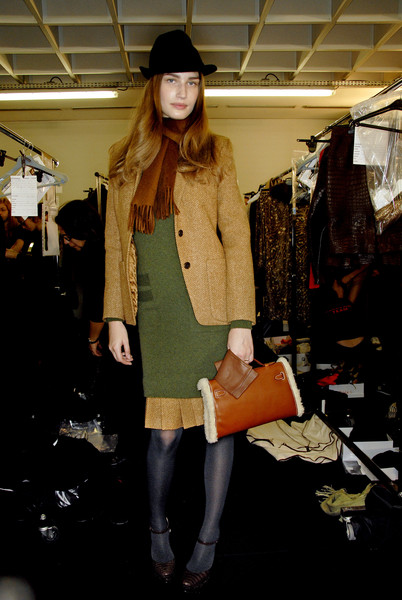 Hermès Fall 2007 - Backstage