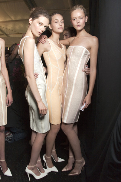 Hervé Léger by Max Azria at New York Spring 2011 (Backstage)