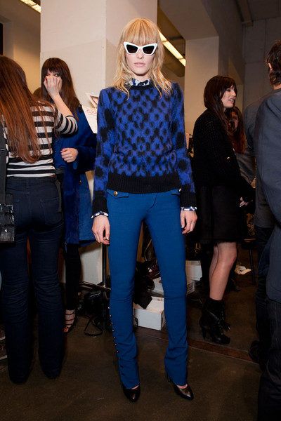 Iceberg Fall 2012 - Backstage