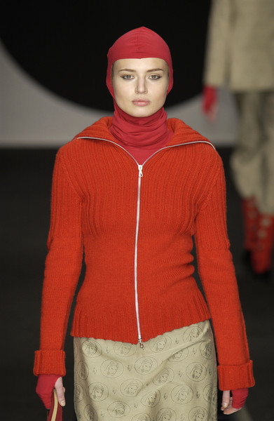 Ines Valentinitsch at Milan Fall 2002