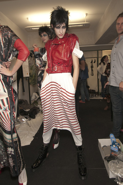 Jean Paul Gaultier Spring 2011 - Backstage