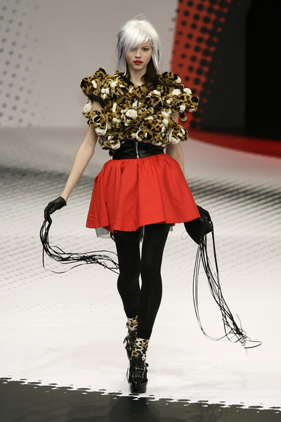 Jean-Charles de Castelbajac at Paris Fall 2009