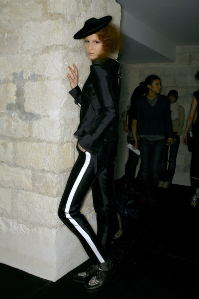 Jeremy Scott at Paris Fall 2007 (Backstage)