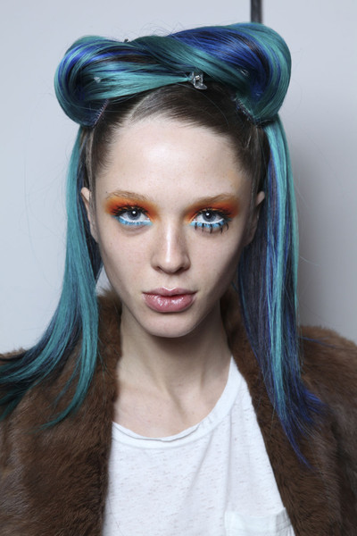 Jeremy Scott at New York Fall 2011 (Backstage)
