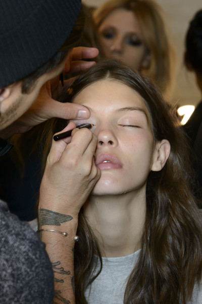 Jill Stuart at New York Spring 2014 (Backstage)