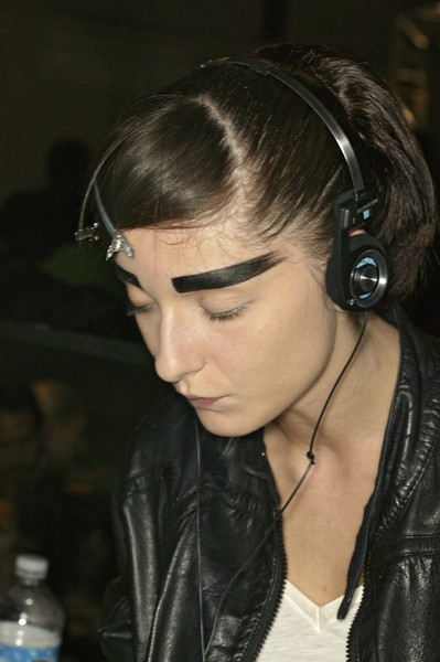 John Galliano at Paris Spring 2007 (Backstage)