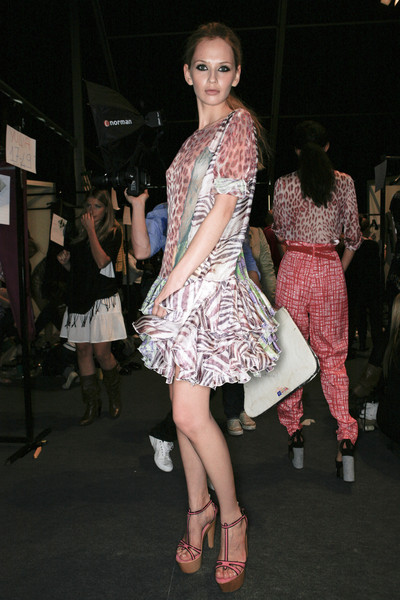 Just Cavalli Spring 2009 - Backstage
