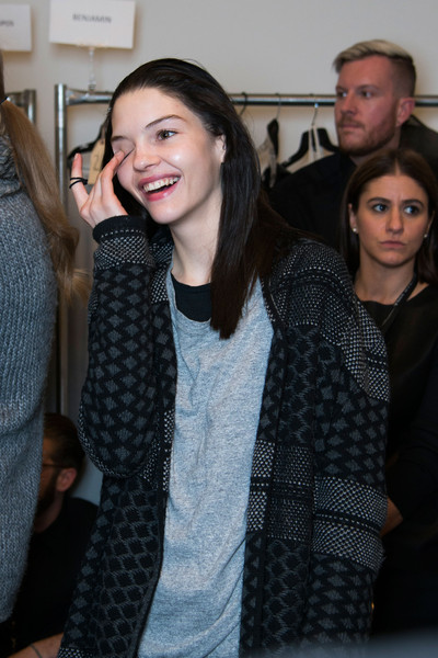 Kenneth Cole New York at New York Fall 2014 (Backstage)