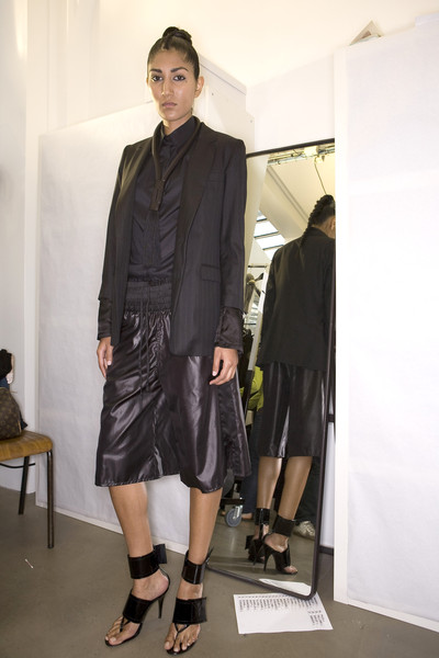Kris Van Assche at Paris Spring 2009 (Backstage)
