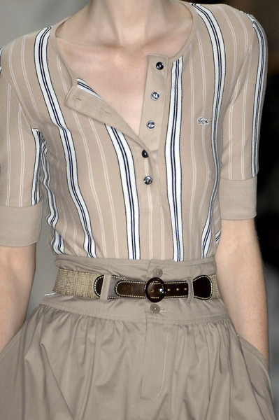 Lacoste at New York Spring 2009 (Details)