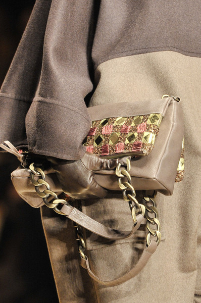 Laura Biagiotti at Milan Fall 2011 (Details)